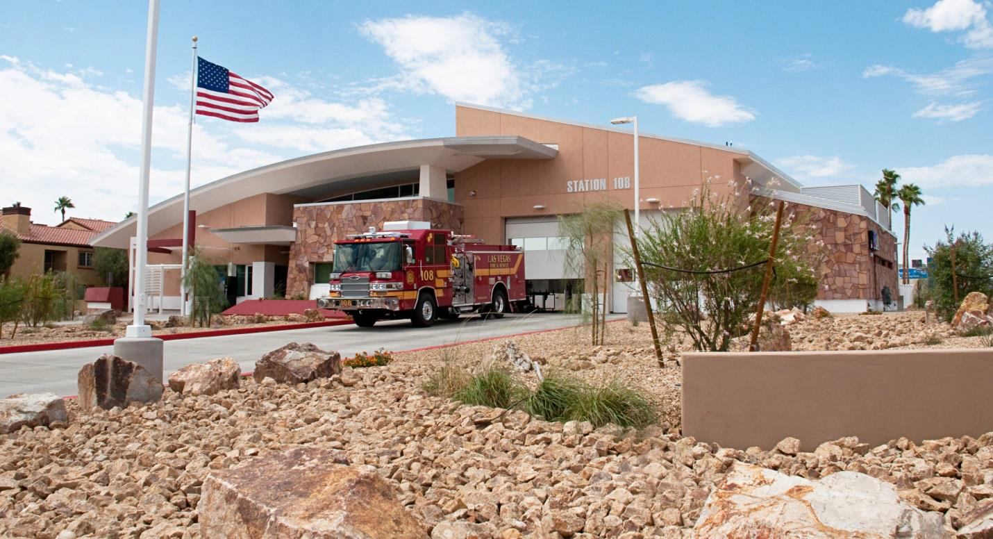 Summer 2014 � RBI Las Vegas � Completion of Fire Station 108, currently seeking LEED certification